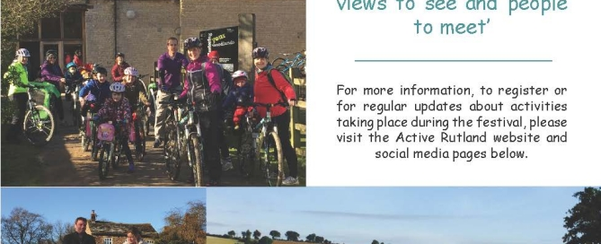Walking and Cycling Festival Poster