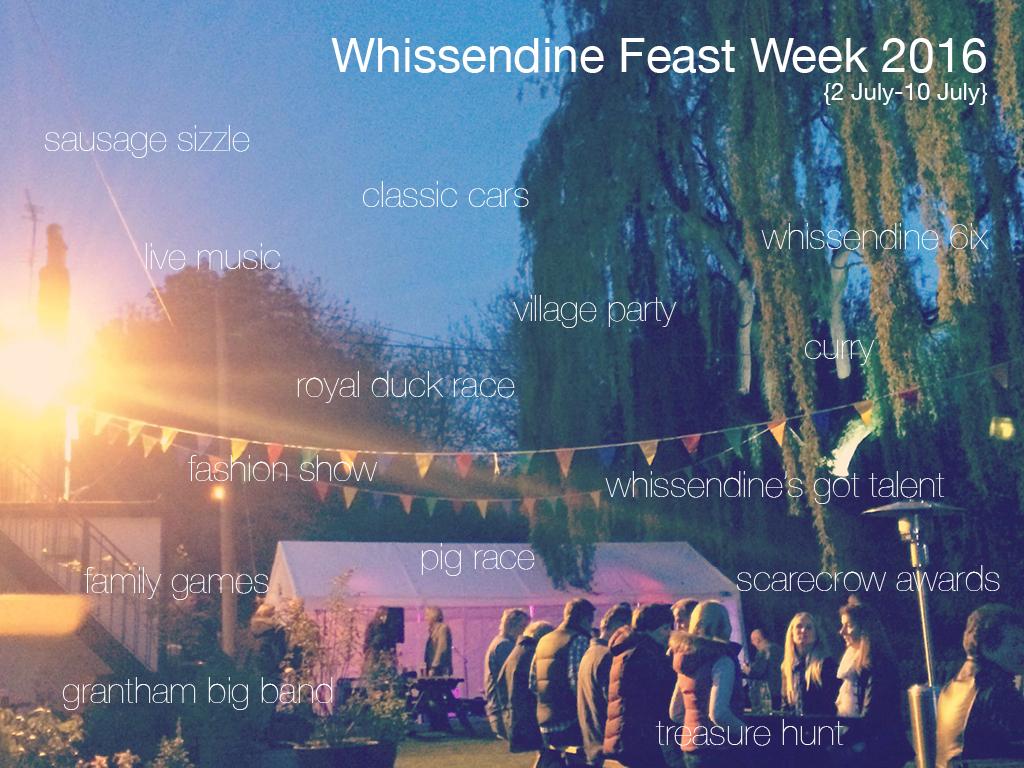 whissendine feast week 2016