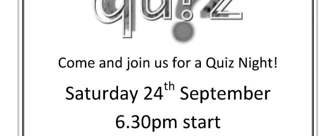 Church Quiz Night Poster