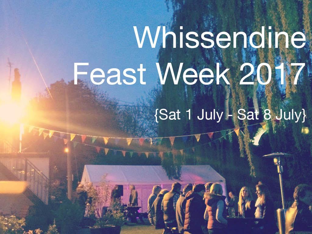 whissendine feast week 2017