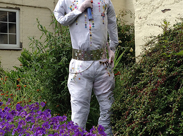 The King (scarecrow competition 2015)